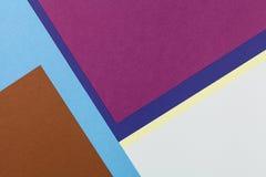 Kleurendocumenten achtergrond Royalty-vrije Stock Fotografie