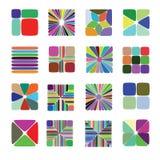 Kleurenelementen voor Patroonbouw Royalty-vrije Stock Afbeelding