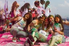 Kleurenhemel 5K Stock Afbeeldingen