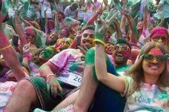 Kleurenhemel 5K Royalty-vrije Stock Foto's