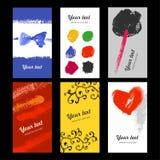 Kleurenkaarten Stock Foto