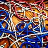 Kleurenkabels Stock Fotografie