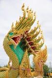 2 kleurenkoning van Nagas Royalty-vrije Stock Afbeeldingen