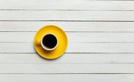 Kleurenkop van koffie Royalty-vrije Stock Afbeelding