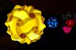 Kleurenlamp Stock Afbeelding