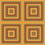 Kleurenmozaïek - patroon Royalty-vrije Stock Afbeeldingen