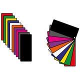 Kleurenpalet Royalty-vrije Stock Fotografie