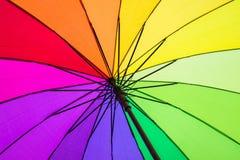 Kleurenpatroon van een paraplu Royalty-vrije Stock Fotografie