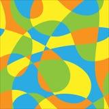 Kleurenpatroon van lijnen Stock Afbeelding