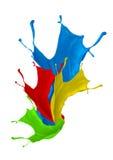 Kleurenplons Stock Foto