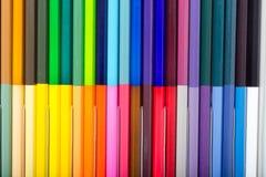 kleurenpotloden Royalty-vrije Stock Afbeeldingen