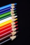 Kleurenpotloden Royalty-vrije Stock Fotografie