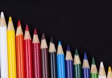 Kleurenpotloden Stock Afbeeldingen