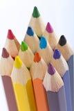 Kleurenpotloden Royalty-vrije Stock Afbeelding