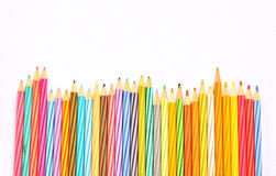 Kleurenpotloden Stock Foto