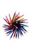 Kleurenpotloden Royalty-vrije Stock Foto