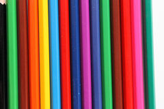 Kleurenpotloden Stock Fotografie