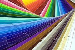 Kleurenscala stock afbeeldingen