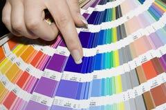 Kleurenscala stock foto's