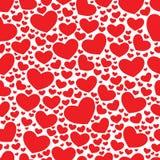 Kleurensnoepje Al patroon van Valentine van de Minnaarsdag Vector Illustratie