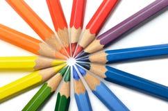 Kleurenspectrum royalty-vrije stock afbeeldingen