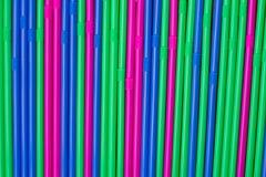 Kleurenstro stock foto's
