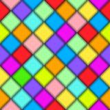 Kleurentextuur. Naadloze vector Stock Afbeelding