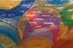 Kleurenweb Stock Afbeelding