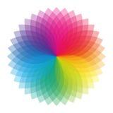 Kleurenwiel royalty-vrije stock afbeelding