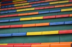 Kleurenzetel Royalty-vrije Stock Foto