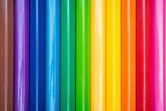 Kleuringspotloden Royalty-vrije Stock Afbeeldingen