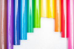 Kleuringspotloden Royalty-vrije Stock Fotografie