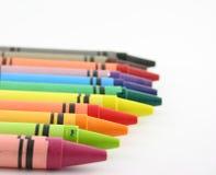 Kleurpotloden 1 stock afbeeldingen