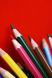 Kleurpotloden Royalty-vrije Stock Afbeeldingen