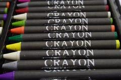 Kleurpotloden 2 stock afbeelding