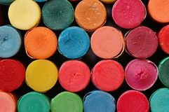 Kleurpotloden stock foto