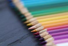 Kleurpotloden Stock Fotografie