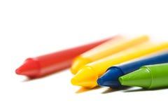Kleurpotloden Royalty-vrije Stock Afbeelding