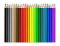 Kleurpotloden stock illustratie