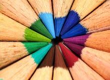 Kleurpotloden Royalty-vrije Stock Foto