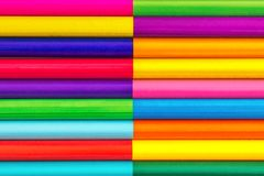 Kleurpotloden, achtergrond Royalty-vrije Stock Fotografie