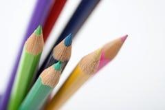 Kleurpotlood Stock Fotografie