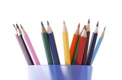 Kleurpotlood Royalty-vrije Stock Foto's
