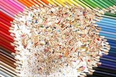 Kleurpotlood Stock Foto