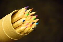 Kleurpotlood stock afbeelding