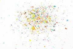 Kleurpotloodspaanders Royalty-vrije Stock Afbeelding