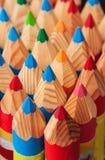 Kleurpotloodtextuur Stock Foto's