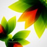 Kleurrijk abstract bloemenmalplaatje royalty-vrije illustratie