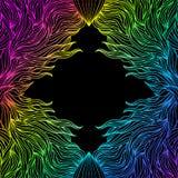 Kleurrijk abstract frame Stock Afbeelding