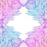 Kleurrijk abstract frame vector illustratie